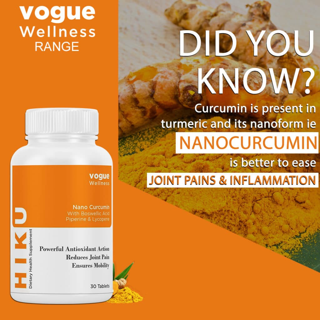 Benefits of Nano curucumin