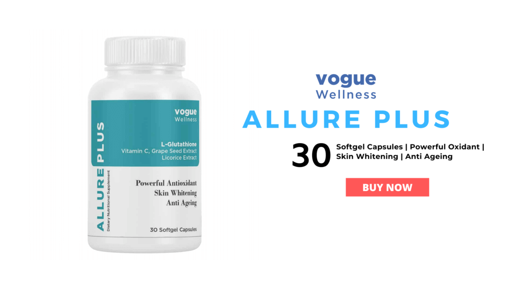 Allure plus skin whitening capsules