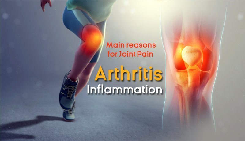 Main reasons of joint pain