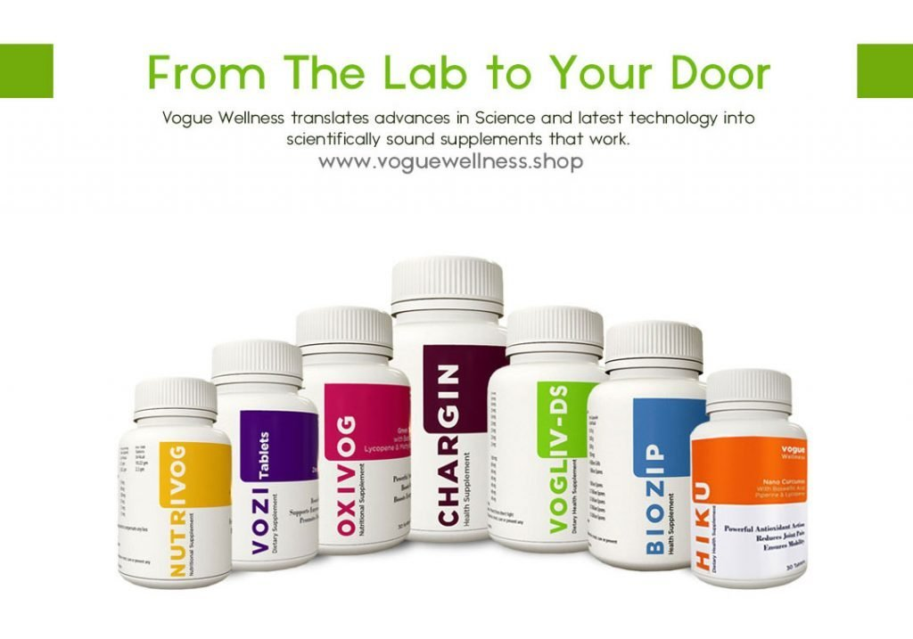 Vogue wellness from lab to door