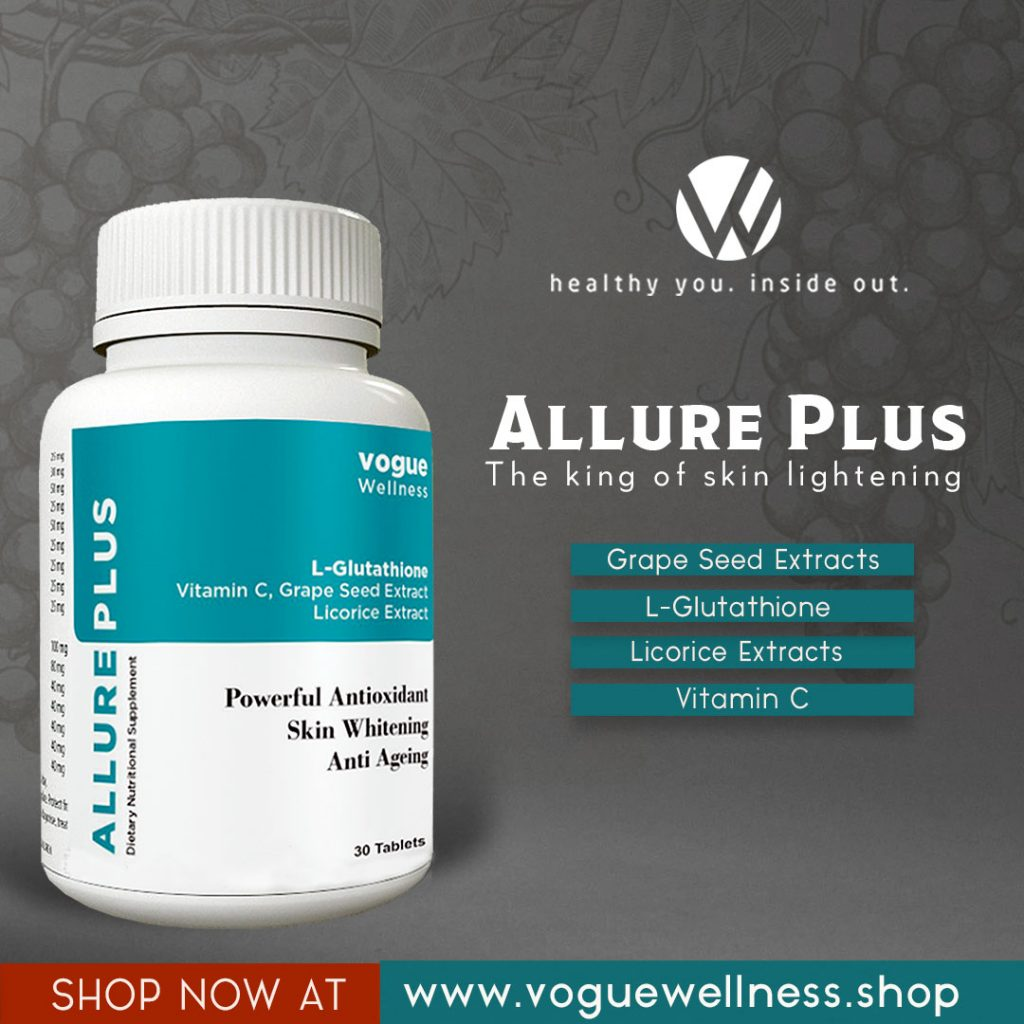allure plus The king of skin whitening
